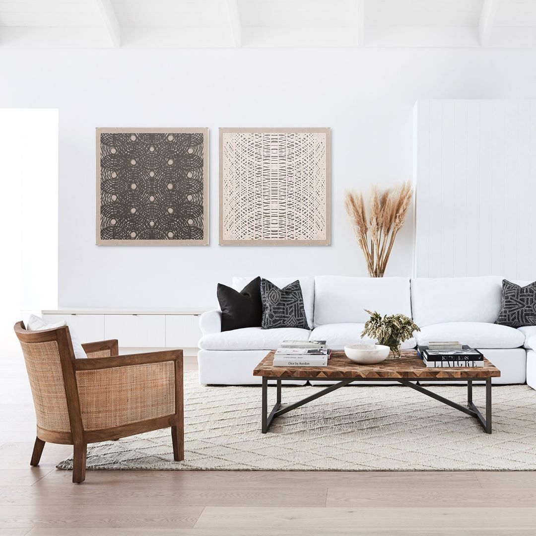 The Natural Beauty Of Rattan Is Highlighted On The Handsome Mumba Occasional Chair Cocorepublic Interi Occasional Chairs Living Room Occasional Chairs Decor