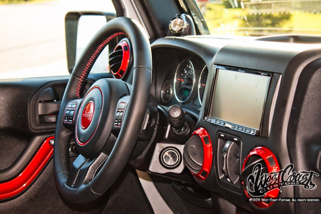 Custom Interior Jeep Wrangler Google Search Jeep Wrangler Pinterest Jeeps Jeep Stuff