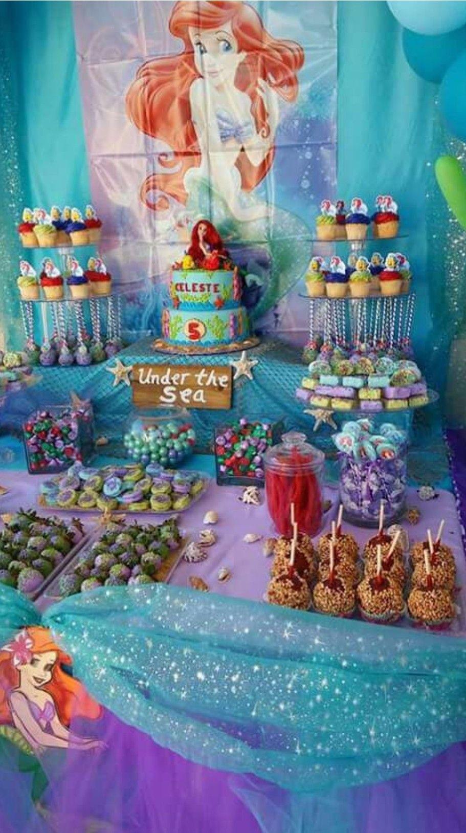 Pin by Kerri Molloy on Little Mermaid Party Ariel
