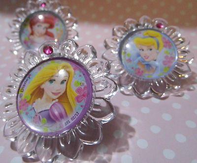 4 ♥ Disney ♥ Princess Belle Ariel Cinderella Tangled Cabinet ...