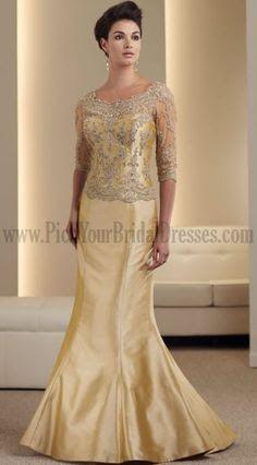 Golden Wedding Anniversary Dresses Google Search Wedding Party Dress Guest Anniversary Dress Dresses