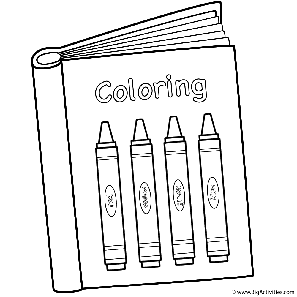 Coloring Page Coloring Book Pages School Coloring Pages Kindergarten Coloring Pages