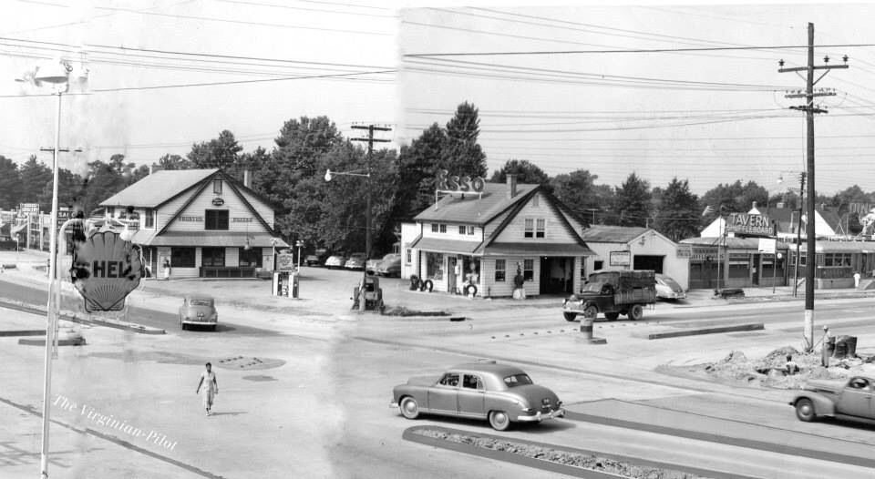1950 this is the corner of granby and little creek where the hofheimer 39 s building would be. Black Bedroom Furniture Sets. Home Design Ideas