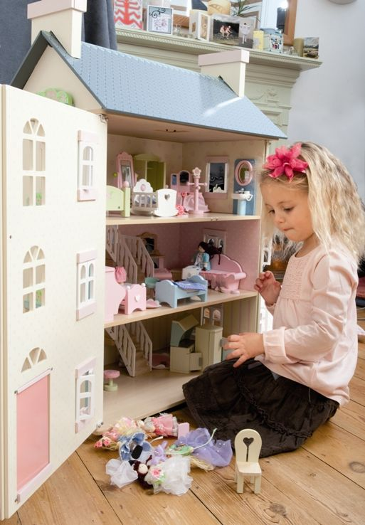 Le Toy Van Cherry Tree Hall Doll S House At Buxton Baby Australia
