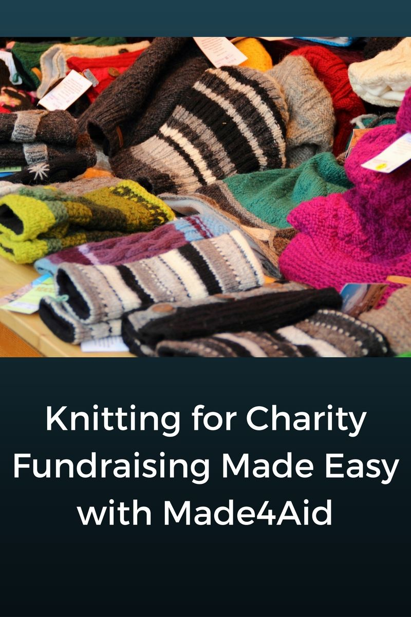 Fundraising Made Easy: Made4Aid | Fundraising, Knitting patterns and ...