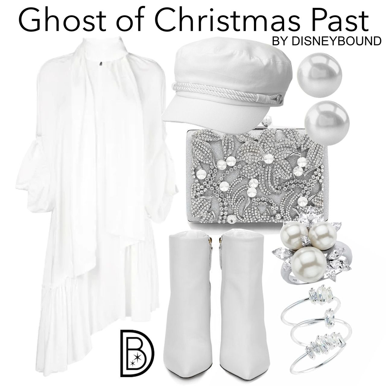 DisneyBound - Ghost of Christmas Past | Disneybound, Ghost of christmas past, Muppet christmas carol