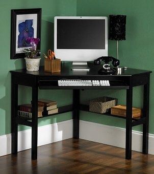 Watching HGTVs For Rent Has Me Thinking About Pictures That Become Desks And Creating Storage Space Black Corner DeskSmall