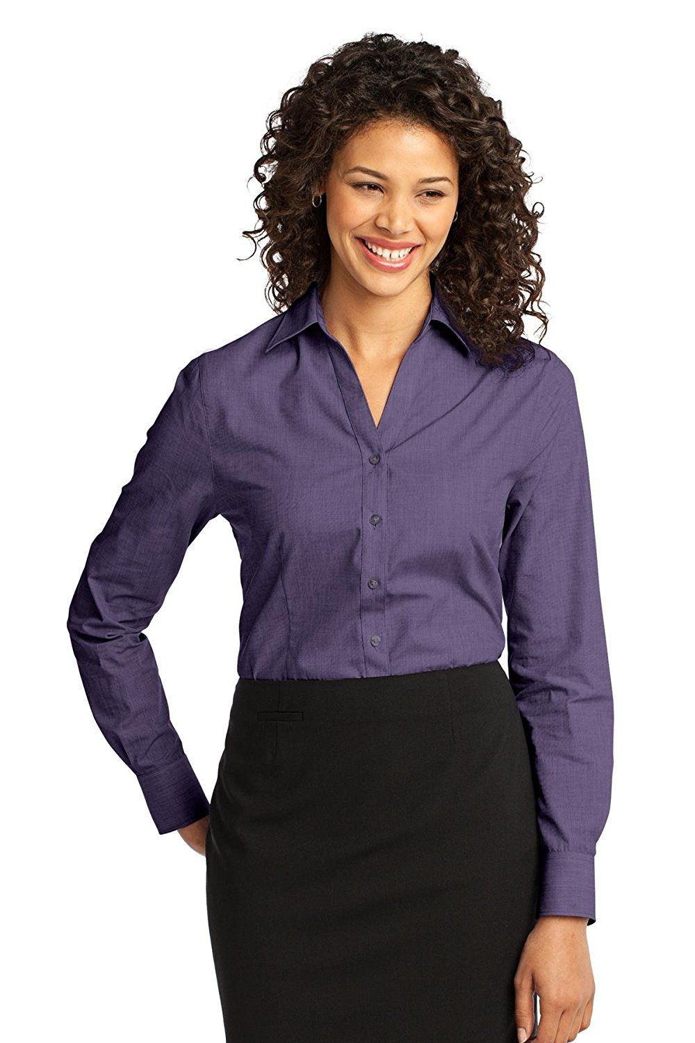 a9ddf527e Port Authority Women's Crosshatch Easy Care Shirt * For more information,  visit image link.