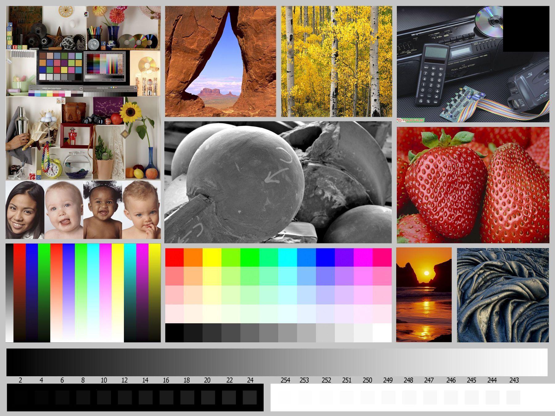 Best Color Printer Test Page