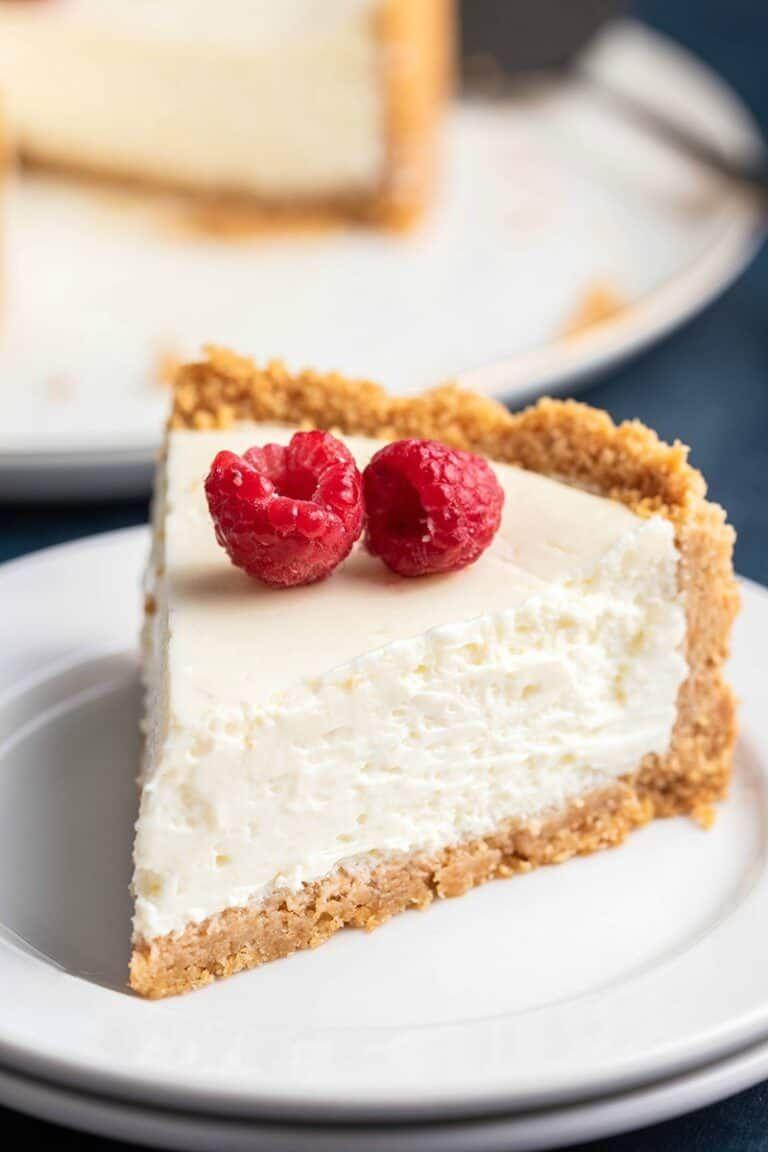 Easy Vegan Cheesecake No Tofu Or Nuts The Big Man S World Recipe In 2020 Vegan Cheesecake Sugar Free Cheesecake Cheesecake Recipes