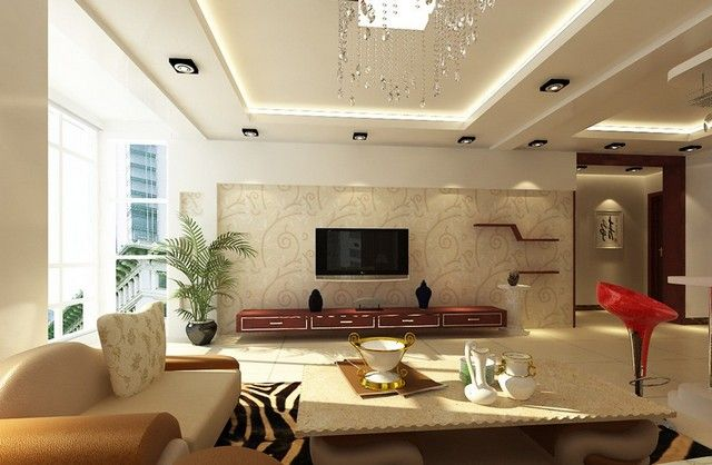 Living Room Wall And Ceiling Colors