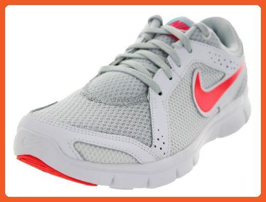 Nike Women's Flex Experience Rn 2 Pr Pltnm/lsr Crmsn/White/Plrzd Running  Shoe Women US