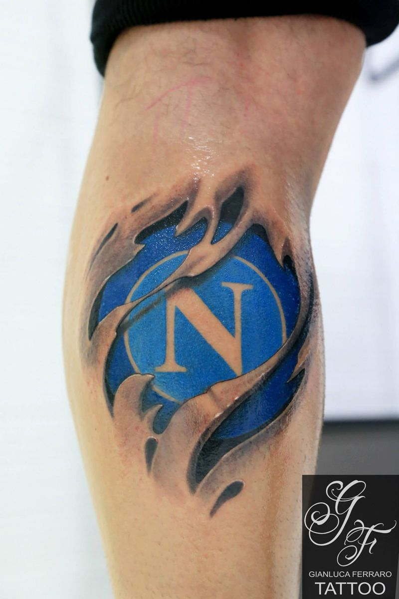 Tattoo Calcio Football Sscnapoli Calcionapoli Naples