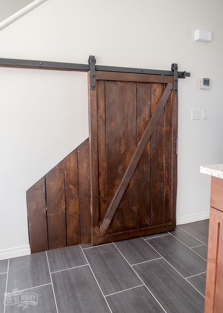 Diy Sliding Barn Doors For Your Home Get The Look With A Feather