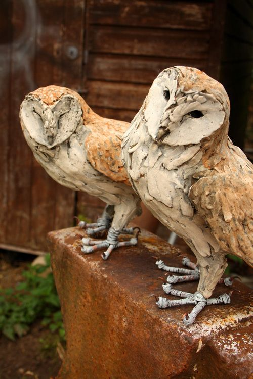 Owl Sculptures Created By Joe Lawrence Gorgeous Owl