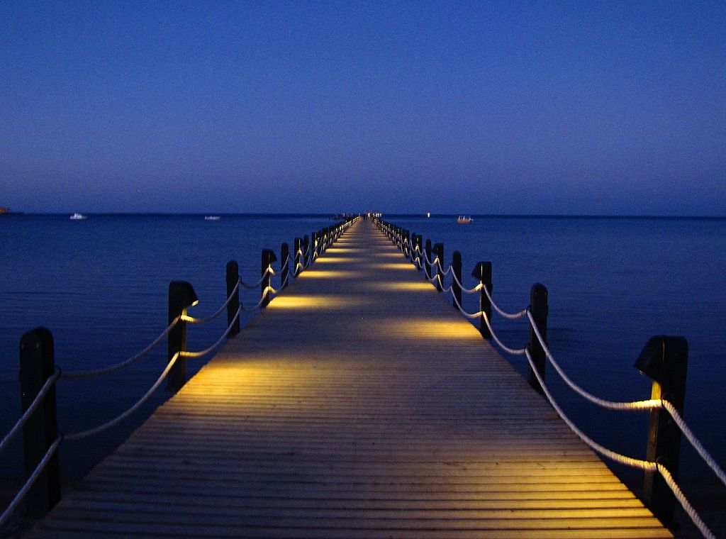 Pier Lights Bridge Lighting House Styles Pathway