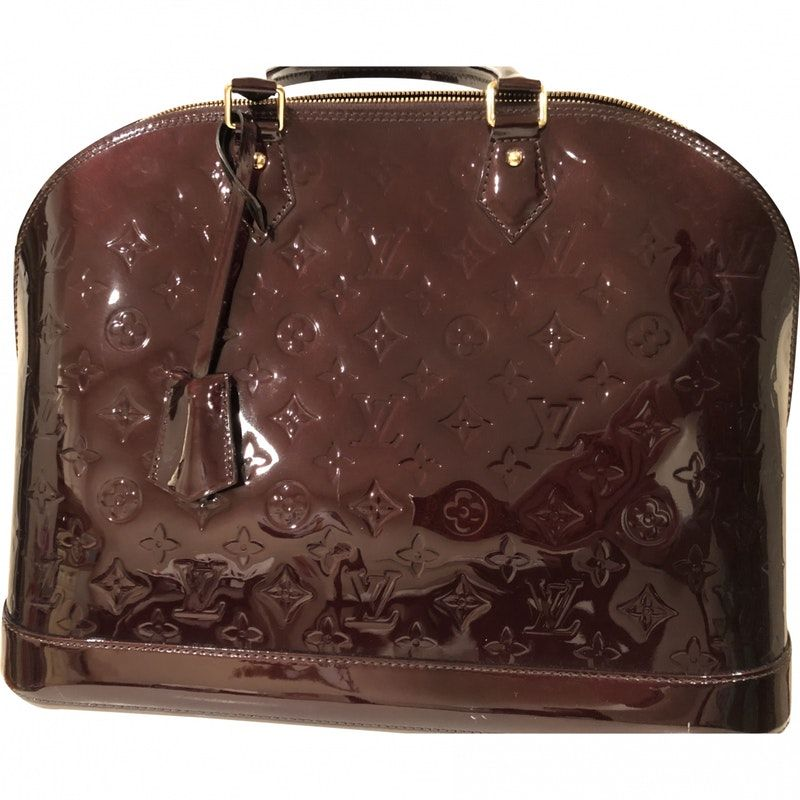 467672848926 Patent leather LOUIS VUITTON Handbag - Vestiaire Collective