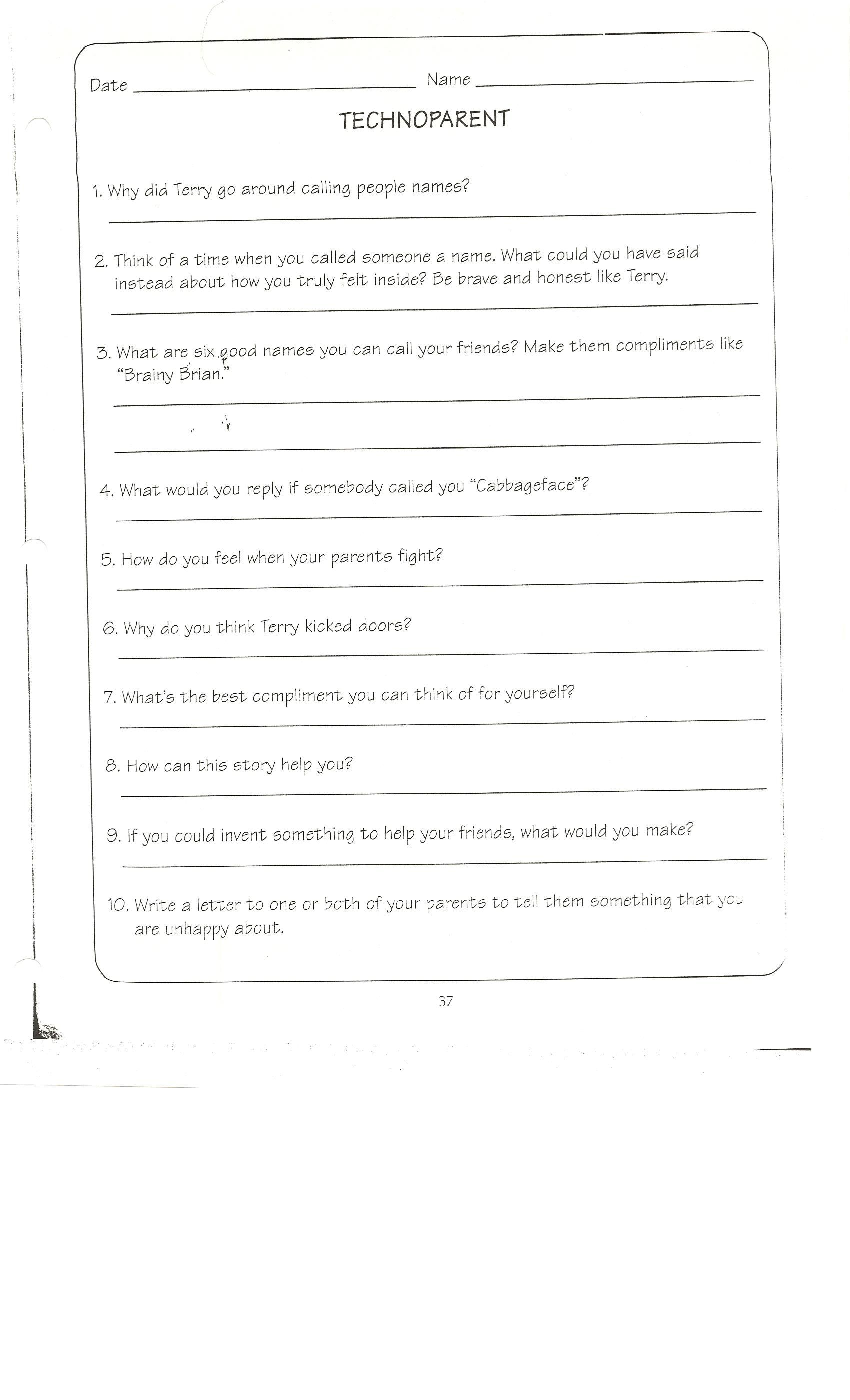 Technoparent Questions