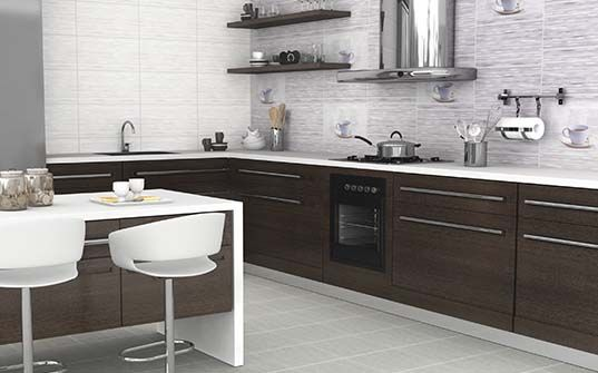 Resultado de imagen para porcelanatos para pared de cocina Baldosas de ceramica para cocinas