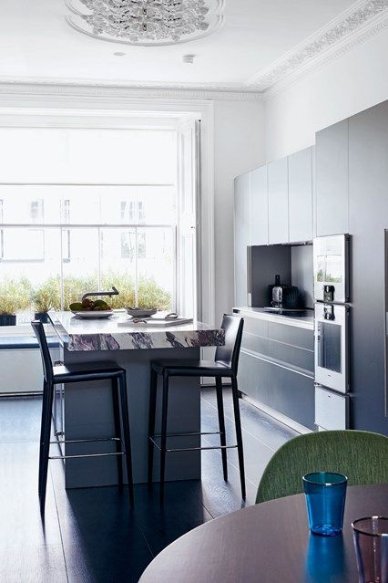Awesome Kitchen Island With Marble Worktop | West London, Kitchen Design And Marbles