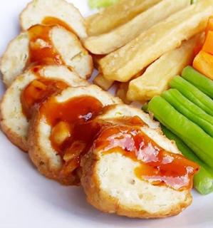 Resep Dan Cara Membuat Galantine Ayam Resep Masakan Resep Resep Ayam