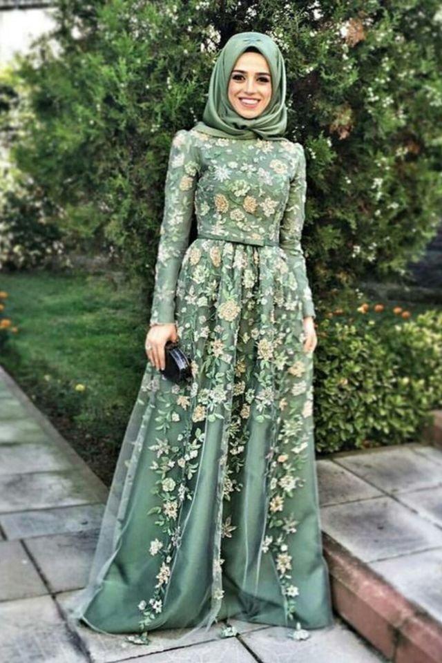 مجموعه فساتين خرافه اجدد فساتين سواريه للمحجبات 2020 532764 1500244879 Jp Hijab Fashion Muslim Dress Fashion