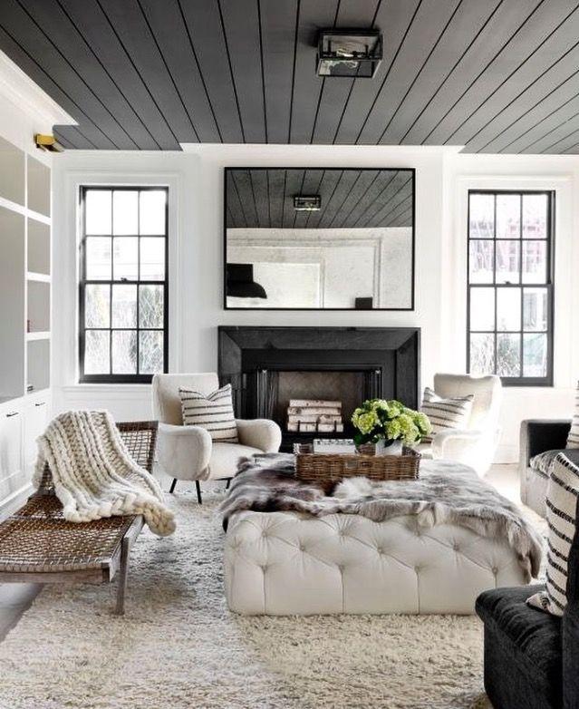 Can we talk about this ceiling? | Paint it | Pinterest | Deko