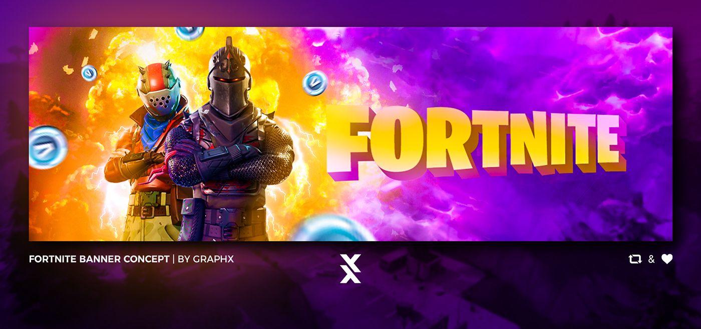 Image Result For Fortnite Banners Social Media Banner Youtube Banner Template Banner