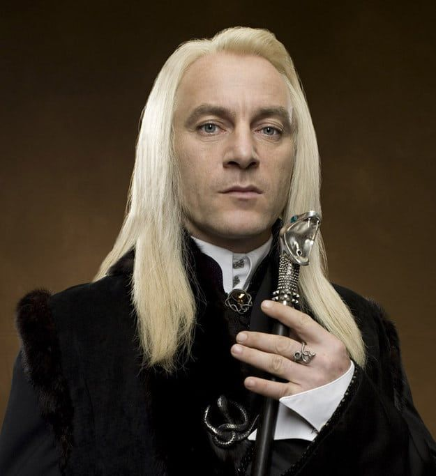 Can You Identify The Harry Potter Character By Just Their Hair Lucius Malfoy Harry Potter Harry Potter Characters Harry Potter Cosplay