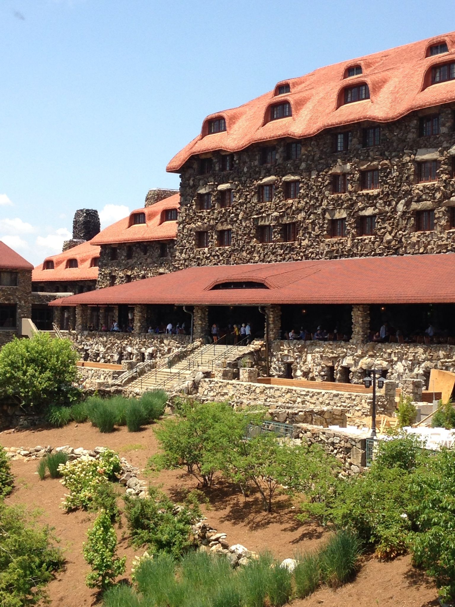 Wonderful lunch today at The Grove Park Inn in Asheville, NC. What a lovely place! Can't wait to ...