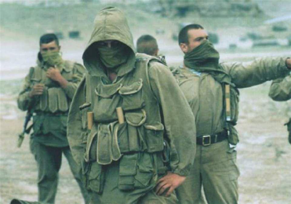Risultati immagini per chechen war spetsnaz
