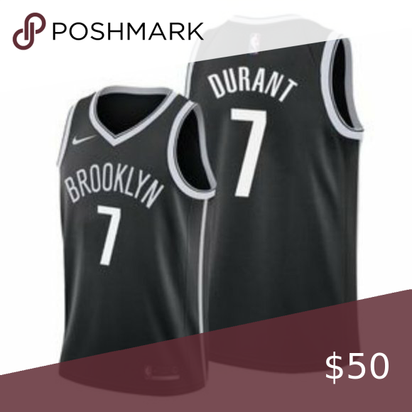 Brooklyn Nets Kevin Durant Black Jersey 1 Brand New With Tags 2 All Items Size Available In Stock 3 All Items Fit In 2020 Nba Shirts Brooklyn Nets Sweatshirt Shirt