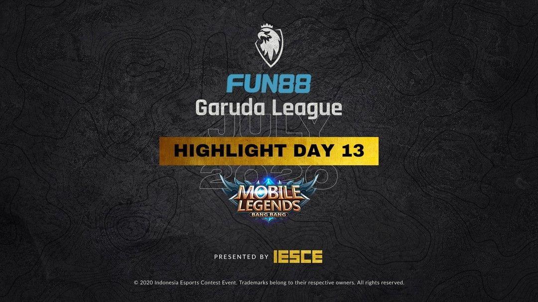 Highlight MLBB FUN88 GARUDA LEAGUE Congratulations to ...