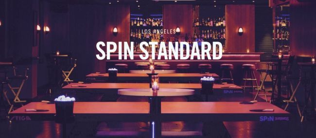 Spin At The Standard Hotel Is One Of The Best Table Tennis Bar Venues In Los Angeles Read All About It And Other L A Ping Los Angeles Ping Pong Table Tennis