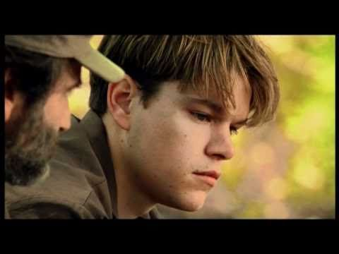 Good Will Hunting The Park Bench Good Will Hunting Inside The Actors Studio Film