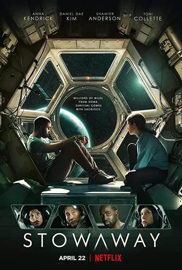 Stowaway Trailer Coming To Netflix April 22 2021 In 2021 Sci Fi Thriller Netflix Thriller