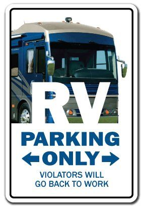 Amazon.com: RV ~Sign~ recreational vehicle motor home camper gift: Patio, Lawn & Garden