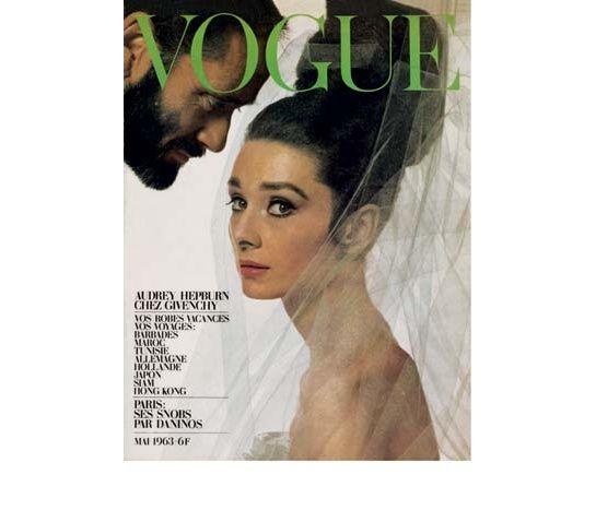 90 ans de Vogue. Audrey Hepburn par Bert Stern. Mai 1963