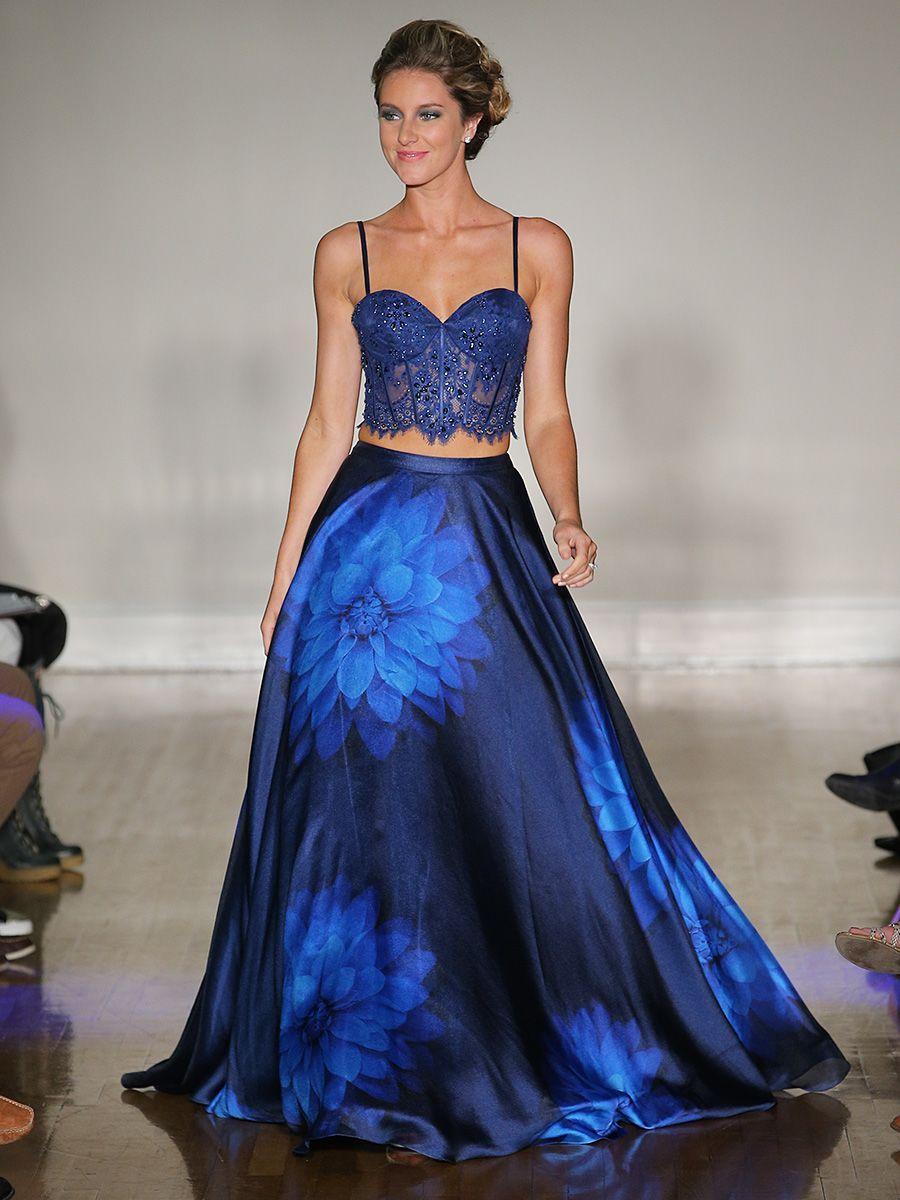 27e68143503 20 Dreamy Blue Wedding Dresses