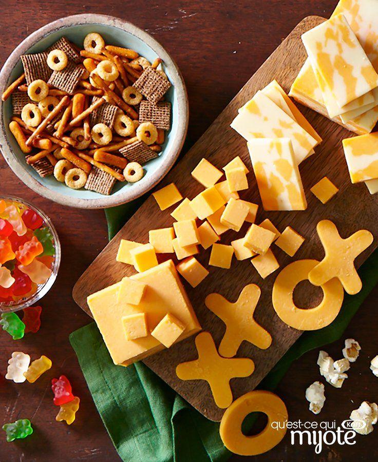 Plateau à fromages pour le grand match Recipe Game