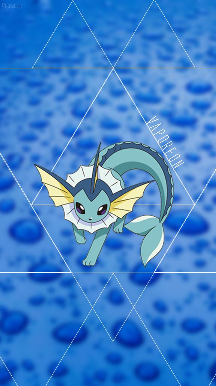 Wallpaper Vaporeon Water Type Pokèmon Pokemon Cosas