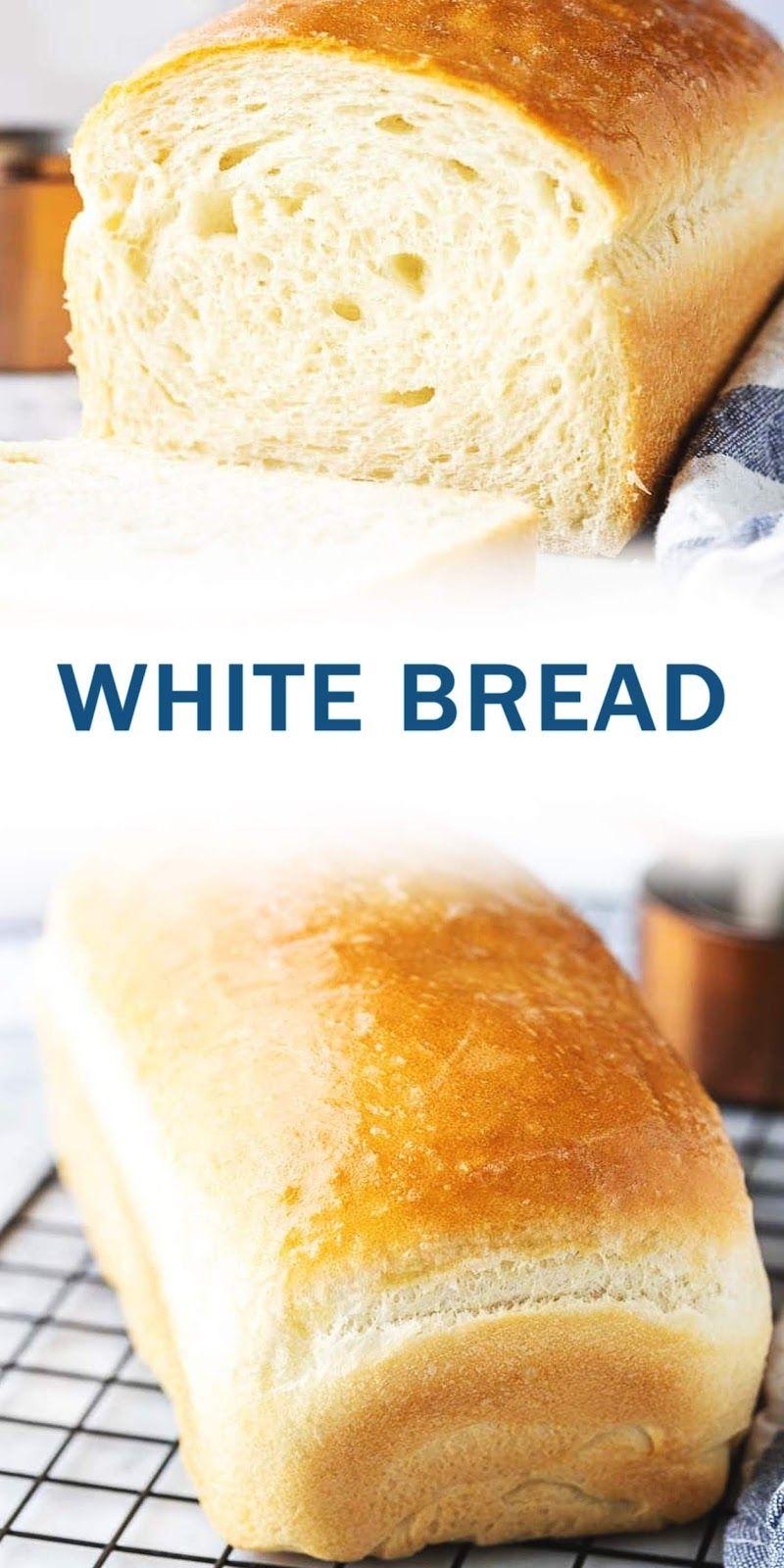 White Bread Bestrecipe005 Roti Putih Resep Makanan Resep Makanan Penutup