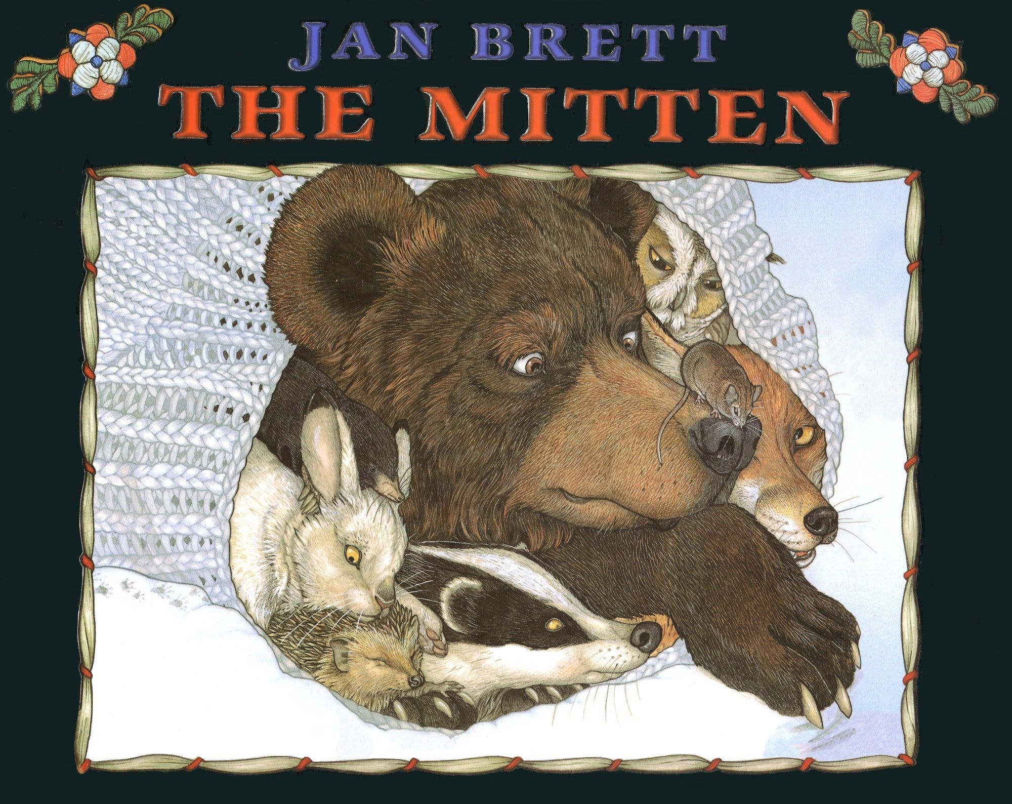 A Cute Story About A Lost Mitten Being Populated By All Sorts Of Woodland Creatures The