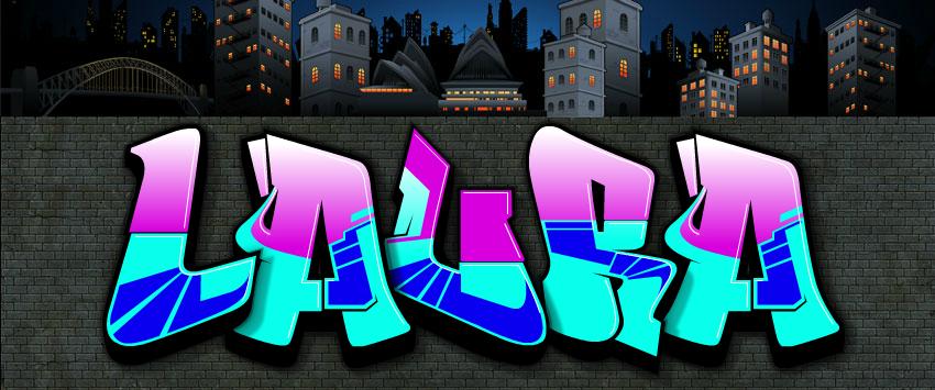 Resultado De Imagen Para Graffitis Con El Nombre De Laura