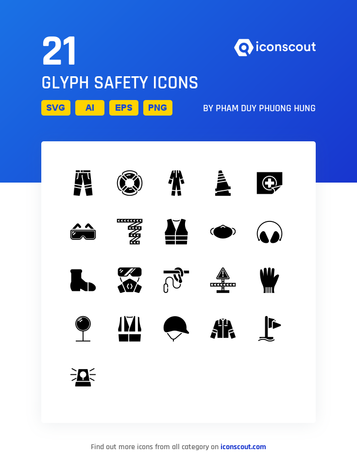 Download Glyph Safety Icon Pack Available In Svg Png Eps Ai Icon Fonts Icon Pack Glyphs Glyph Icon