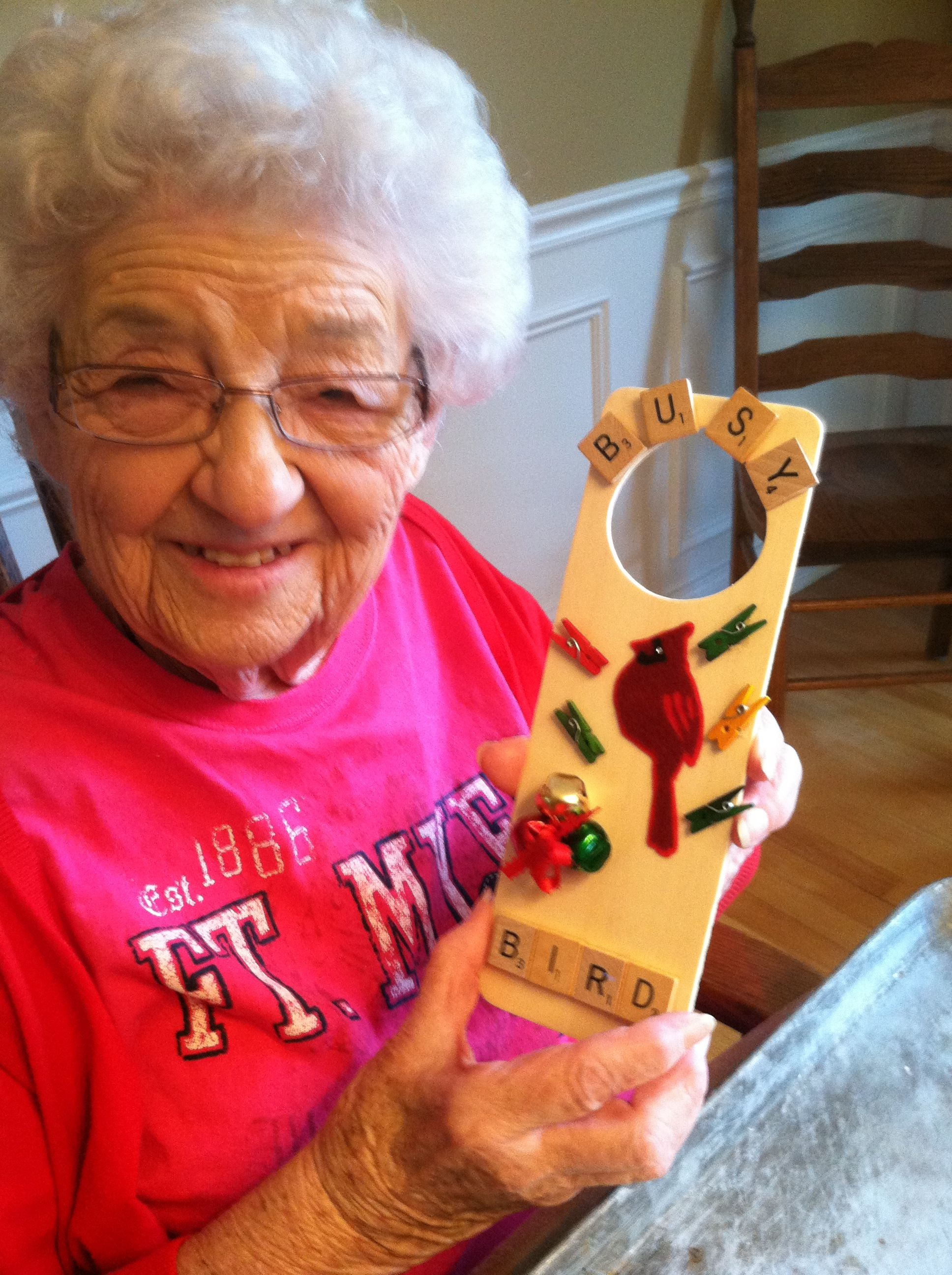 Senior center door sign Elderly activities, Nursing home