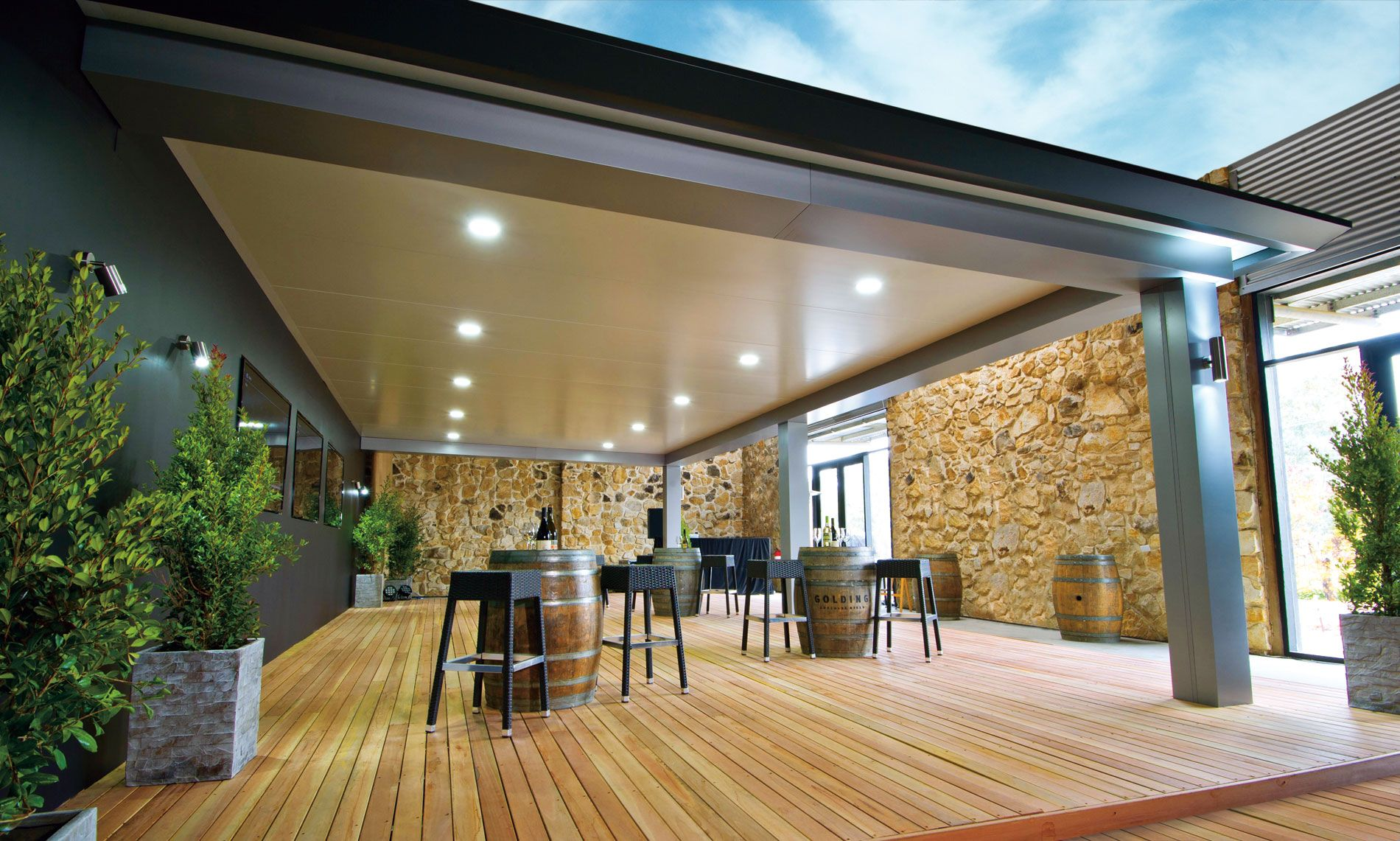 Pavilion Outdoor Living Patio By Stratco Architectural