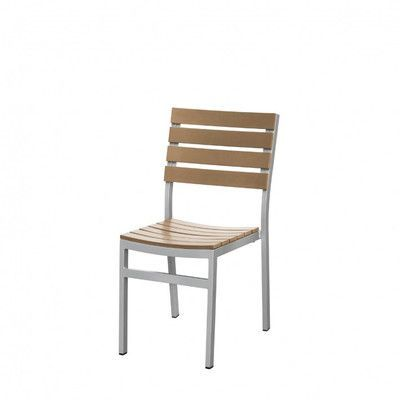 Source Contract Vienna Stacking Dining Side Chair Finish: