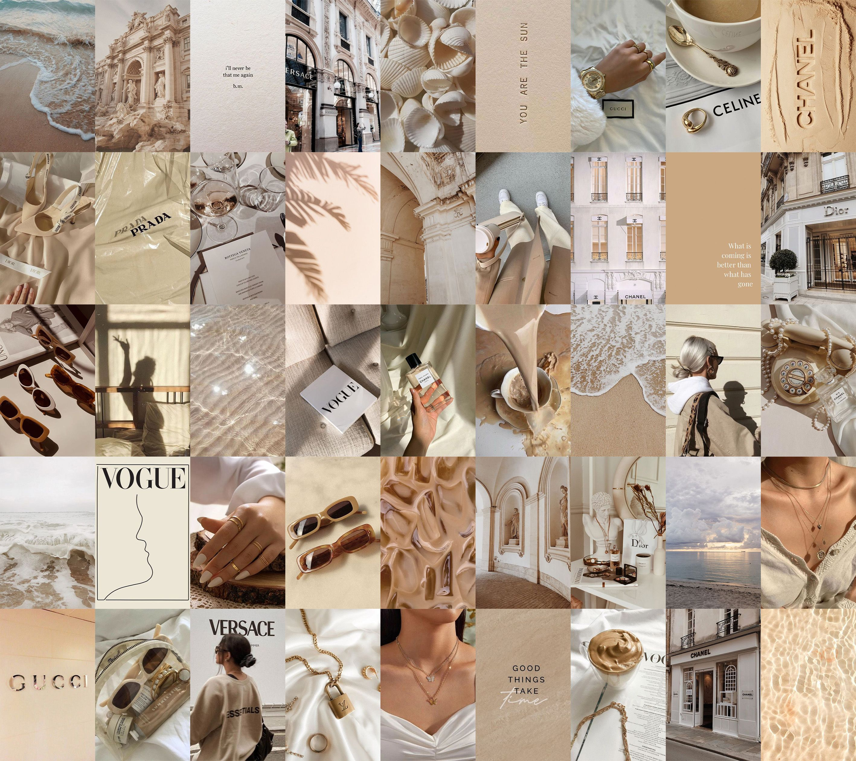 Boujee Aesthetic Beige Wall Collage Kit Digital Download Etsy In 2021 Wall Collage Decor Wall Collage Wall Collage Kit Download aesthetic room colors