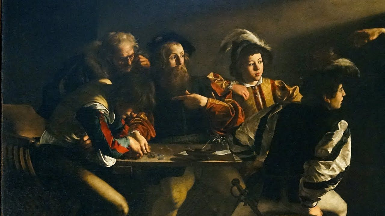 The seven works of Mercy by Caravaggio in Rome